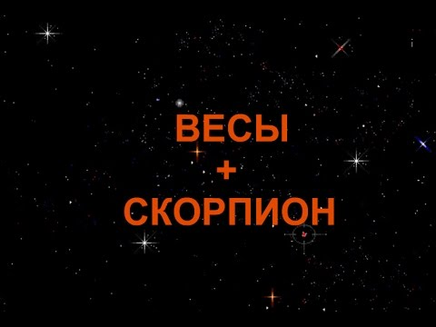 СКОРПИОН+ВЕСЫ - Совместимость - Астротиполог Дмитрий Шимко