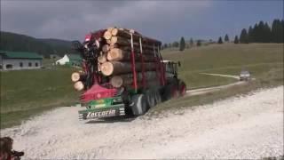 Rimorchio Forestale  - Zaccaria Forestry Trailer