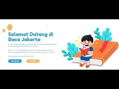 Tutorial Aplikasi Booklet Baca Jakarta