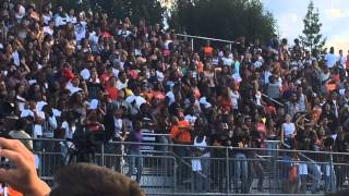 Fetty Wap's Paterson high school concert