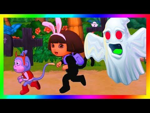 dora the explorer games to play cartoon doras halloween parade and friends