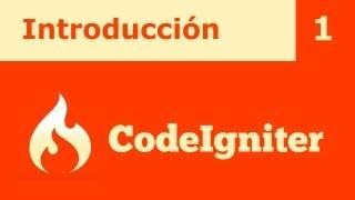 Tutorial CodeIgniter 1: Introducción