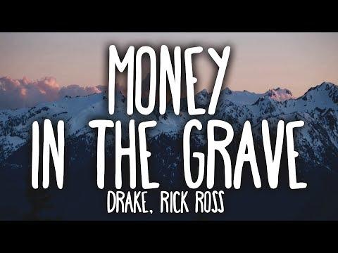 Drake - Money In The Grave (Clean - Lyrics) ft. Rick Ross