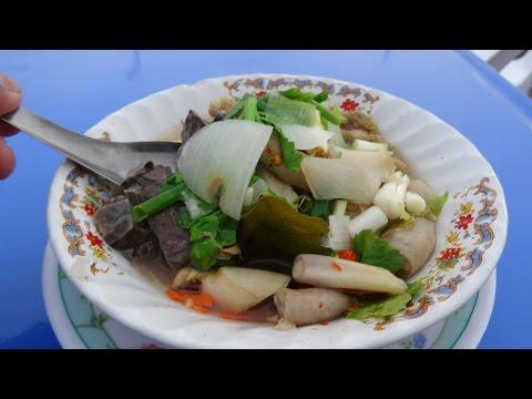ต้มเครื่องในวัวโต้รุ่งกระบี่ Krabi street food
