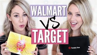 UNBOXING - Walmart vs Target Beauty Box by Eleventh Gorgeous