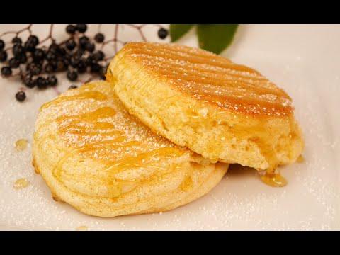 Diese Pfannkuchen zerlaufen im Mund!! Soft, softer, souffle Pancakes -