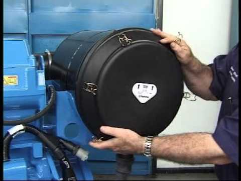IGSPL - How to replace an Air filter on a Perkins 2000 series engine - P550