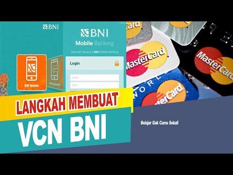 CARA MEMBUAT VCN BNI VIA APLIKASI MOBILE BANKING BNI