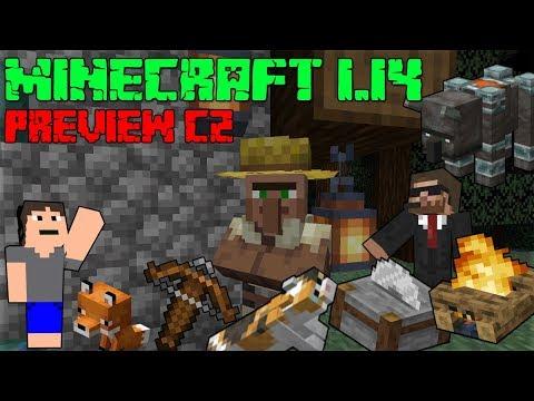 Minecraft 1.14 CZ! - skoroPRVNÍ LETSPLAY V ČESKU! - Seznam změn
