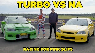 TOO SOON JUNIOR (Turbo VS Non-Turbo Battle)