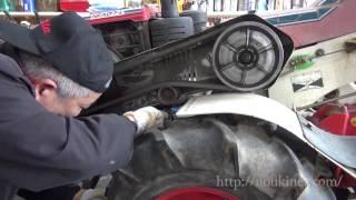 耕うん機トラクター Vベルト、ファンベルトテンション調整  ヤンマー耕うん機 YA70(NFAD7-L)