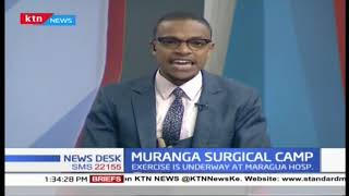Free surgical camp ongoing in Muranga