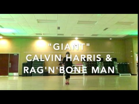 "Dance Fitness Routine To ""Giant"" By Calvin Harris And Rag'N'Bone Man"