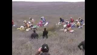 preview picture of video 'Largada Motos 350cc Safari Regional-SIERRA COLORADA 2013'