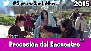 preview picture of video 'Procesión del Encuentro | Semana Santa Naharros (Cuenca) 2015'