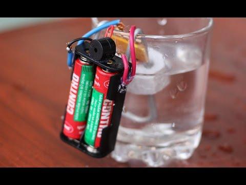 Cómo hacer una alarma de aguas