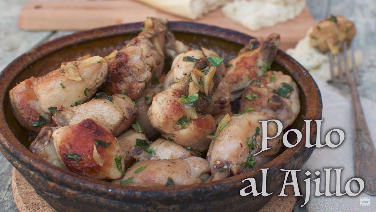Pollo al Ajillo | Pollo al Ajillo Tradicional | Pollo al Ajillo Receta de la Abuela | en Español