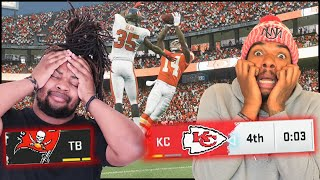 INSTANT CLASSIC! The Most CONTROVERSIAL Play Decides The Game + $50 WAGER!! (Madden 20)