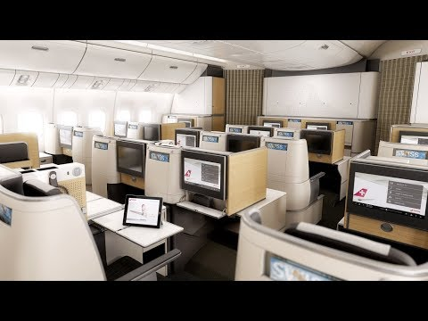 SWISS Boeing 777-300ER Business Class Zurich to San Francisco: a trip with the kids