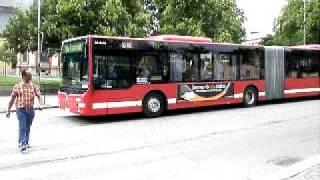 preview picture of video 'Scania Södertälje ? MAN bus!'