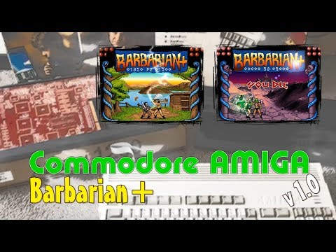 Commodore Amiga -=Barbarian+=-