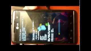 LG Optimus 3D p920 Error instalación ROM CWM recovery