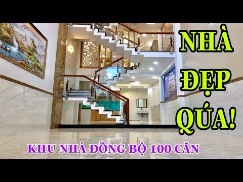 Nhà bán Gò Vấp. Nhà bán đẹp quá 4 lầu thiết kế hoàn hảo 4 x 16m Nguyễn Oanh Gò Vấp