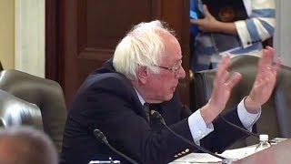 Veteran Affairs Sec. Shulkin testifies on 2018 budget. June 14, 2017. Bernie Sanders