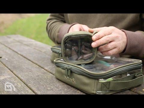 Trakker NXG Bitz Pouch Medium - szerelékes táska videó