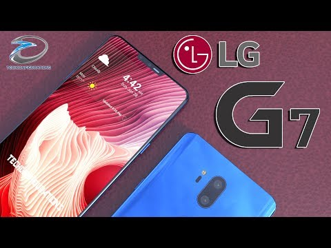 Tempo di render per LG G7 con un Notch in stile iPhone X