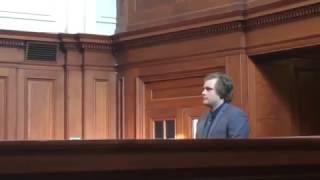 Alleged triple murderer Henri van Breda arrives at Cape Town High Court