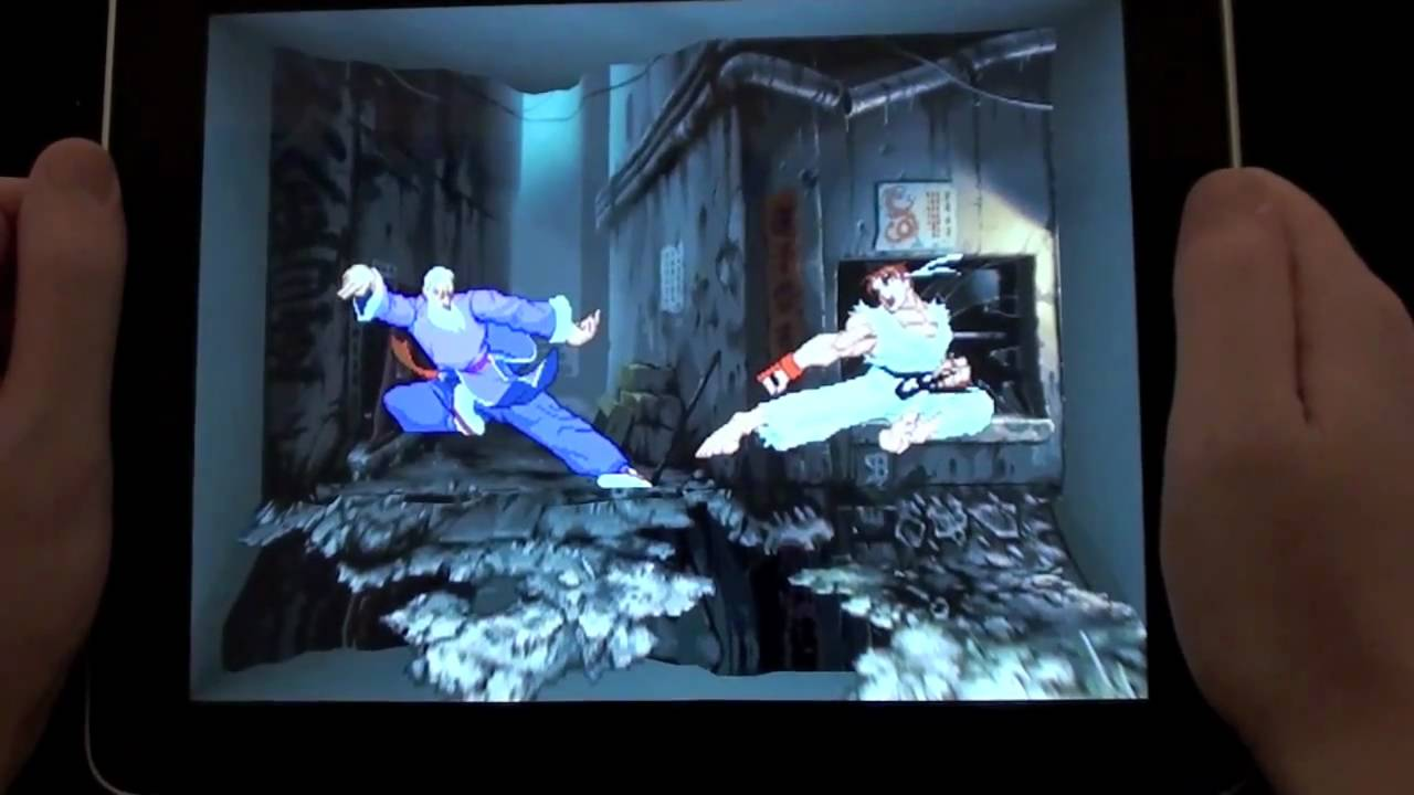 A 3D Twist On 2D Street Fighters