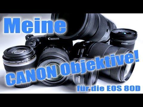 Canon EF und EF-S Objektive zur EOS 80D - von Weitwinkel- bis Teleobjektiv