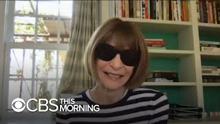 Anna Wintour On Efforts To Rescue The Fashion Industry
