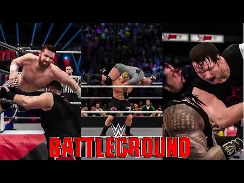 WWE 2K16 Battleground 2016 Prediction Highlights (Full Show)