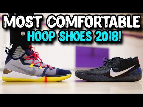 Top 10 Most Comfortable Basketball Shoes 2018!