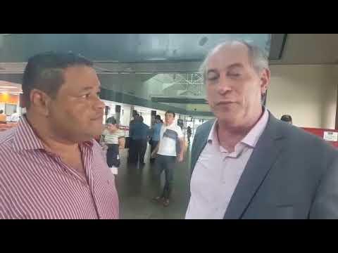 J.Junior participa da convenção do PDT e entrevista o presidenciável Ciro Gomes - Gente de Opinião