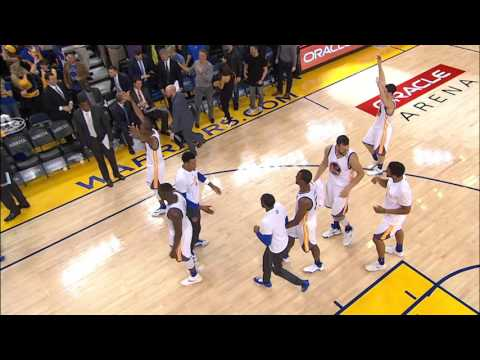 Stephen Curry Banks Home a Half-Court Buzzer Beater!