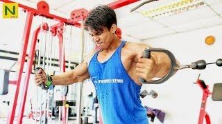 【筋トレ】19歳でこの完成された筋肉! | Akhtar Shamin YoungBeast Workout