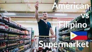 American Vs FILIPINO SUPERMARKET - Different?!