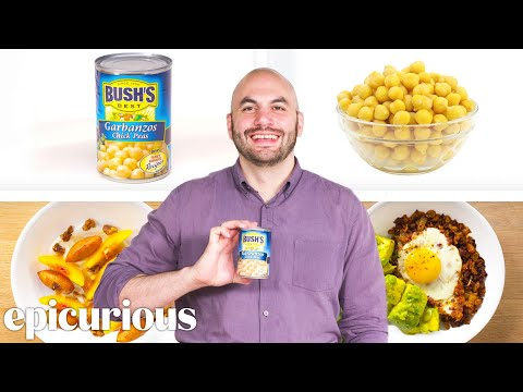 How to Turn a Can of Chickpeas Into 4 Delicious Dishes
