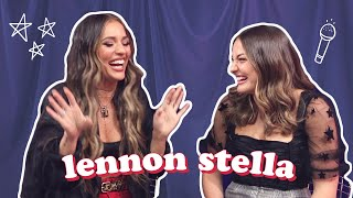 LENNON STELLA INTERVIEW: Her Relationship With Sister, Beauty Secrets, Album + More!