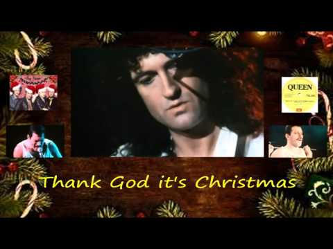 Queen - Thank God it's Christmas   |  with Lyrics