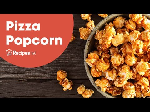 Pizza Popcorn Recipe