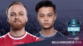 CS:GO - mousesports vs. SK [Dust2] Map 1 - Semifinal - ESL One Belo Horizonte 2018
