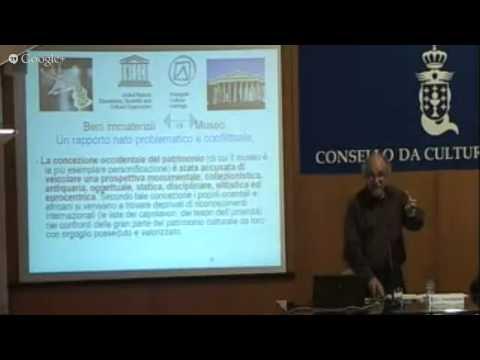 2ª Sesión. Función e recepción social dos museos. Vicenzo Padiglione.