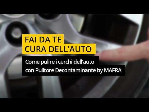 Come pulire i cerchi dell'auto e farli tornare splendenti con Pulitore Decontaminante By MAFRA