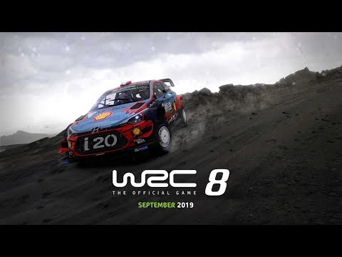 WRC 8 - Official Trailer | Pre-Order now available! thumbnail