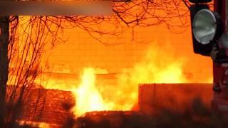 preview picture of video 'Großbrand in Heiligenfelde'