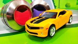 Мультики про машинки. Лего город в опасности в мультике – Краски на дороге. Мультфильмы для детей
